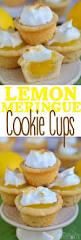 lemon meringue cookie cups mom on timeout