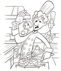 coloriage cuisine sélection de dessins de coloriage cuisinier à imprimer sur