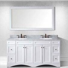 72 Bathroom Vanity Double Sink by Melton 72
