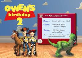 40th birthday ideas birthday invitation templates toy story