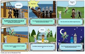 peter pan storyboard angee