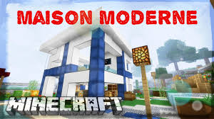 Plan Minecraft Maison by Modern House Minecraft Youtube