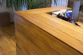 Reclaimed Wood Reception Desk Home Design Custom Reception Desk Reclaimed Wood Pantry Bath