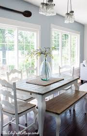 honey colored dining table summer home tour room decor summer and room