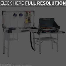Oztrail Camp Kitchen Deluxe With Sink - camping kitchen sink chrison bellina