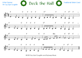 deck the halls piano sheet music letters deck design and ideas