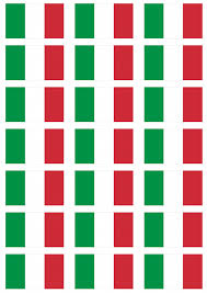Italy Flag Images Italy Flag Stickers 21 Per Sheet
