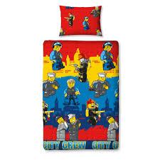 lego ninjago nexo knights star wars city children bed sheets
