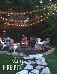 Diy Fire Pit Patio by 83 Best Fire Pits Burning Yard Waste Images On Pinterest