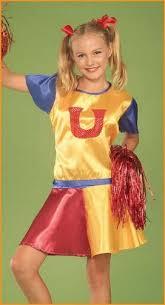 Kids Cheerleader Halloween Costume Halloween Cheerleader Costume Costumelook
