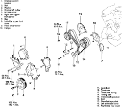 nissan 350z water pump repair guides engine mechanical timing cover and belt