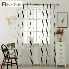 White And Navy Striped Curtains Coffee Tables Ticking Stripe Curtains Black And White Window