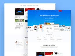 listing factory website design selling ebay template by juwel