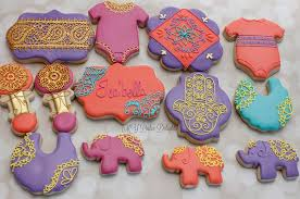 moroccan baby shower moroccan themed baby shower set cookie connection