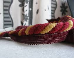 Red Wine Upholstery Cotton Thick Piping Cord 8mm Flanged Piping Cord Piping 6