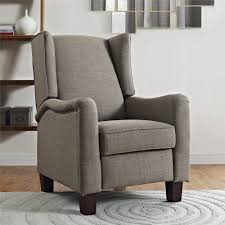 stylish recliner make a sophisticated yet edgy statement in your room with the