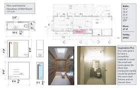Bathroom Design Dimensions by Master Bedroom Floorlan With Ideas For Small Bath And Inlans Cozy