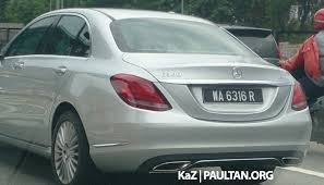 mercedes hybrid price spied mercedes c 300 bluetec hybrid in malaysia