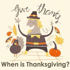 when is thanksgiving 2016 happy thanksgiving day