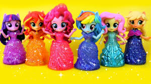 equestria girls princess toys surprises my little pony switch