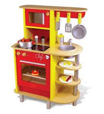 la cuisine de jeux vilac jouets vilac cuisinière en bois la cuisine du chef jouet