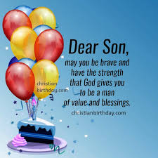 birthday card for my son happy birthday wishes to my son quotes