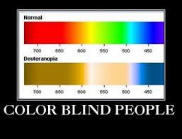color blind j m wetherington sr