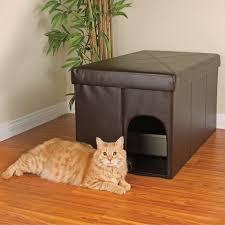 Damask Storage Ottoman by Petco Cat Litter Box Storage Ottoman 72 98 Conceals Litter Box