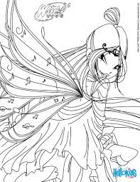 winx club coloring pages bloom transformation bloomix coloring