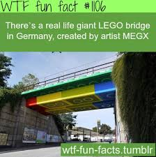 real lego bridge in germany more of facts are