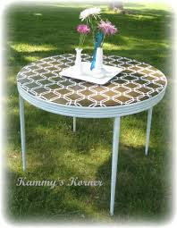 how big is a card table kammy s korner sharp card table redo with a sharp problem