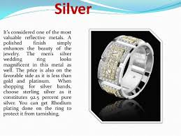 Wedding Ring Metals by Men U0027s Wedding Ring Metal Options
