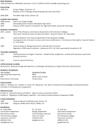 dance resume samples for college u2013 free resume templates