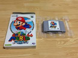 amazon com super mario 64 japanese n64 import video games