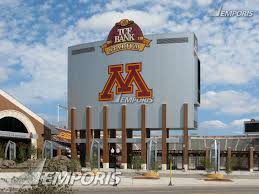 scoreboard from williams arena tcf bank stadium minneapolis