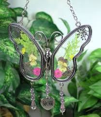 Gifts For Mom by Amazon Com Mom Butterfly Mother Suncatcher With Pressed Flower