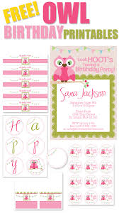 free birthday party printables how to nest for less