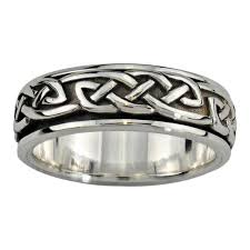 meaning of a knot ring celtic rings celtic knot ring spinner ring celtic jewelry