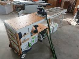portable track saw table extension table homemade taller woodworking pinterest