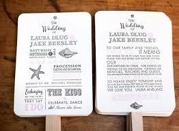 diy wedding programs kits diy wedding program fan kit order of service fan wedding