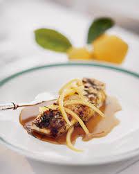 Main Dish With Sauce - halibut with lemon sauce