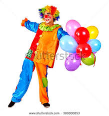 clown balloon clown balloon stock images royalty free images vectors