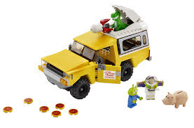 lego toyota amazon com lego toy story 3 pizza planet truck rescue toys u0026 games