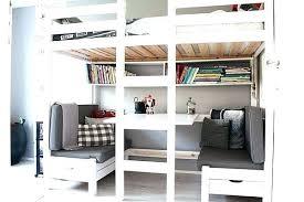 bureau superposé lit superpose cool photo lit mezzanine idee lit mezzanine