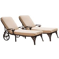 Poolside Chaise Lounge Hampton Bay Stackable Outdoor Chaise Lounges Patio Chairs