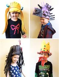 crazy hair ideas for 5 year olds boys 30 best crazy hair and hat day images on pinterest crazy hats