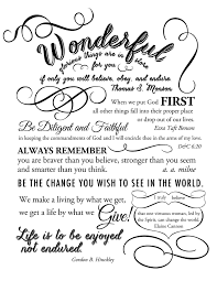 printable quotes in black and white graduation quotes printable the mormon home