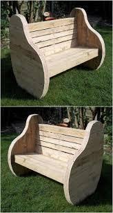 Patio Furniture Made Out Of Wood Pallets - best 20 pallet garden benches ideas on pinterest pallet garden
