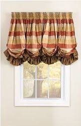 How To Make Balloon Shade Curtains Pretty Balloon Valance Curtains Valance Window