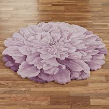 Modern Bath Rug Modern Bathroom With Flower Shaped Area Rugs And Purple Delia